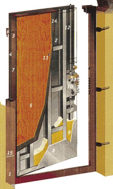 проем более метра установить стальную дверь