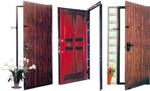 современные железные двери